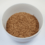 Finely grated chocolate