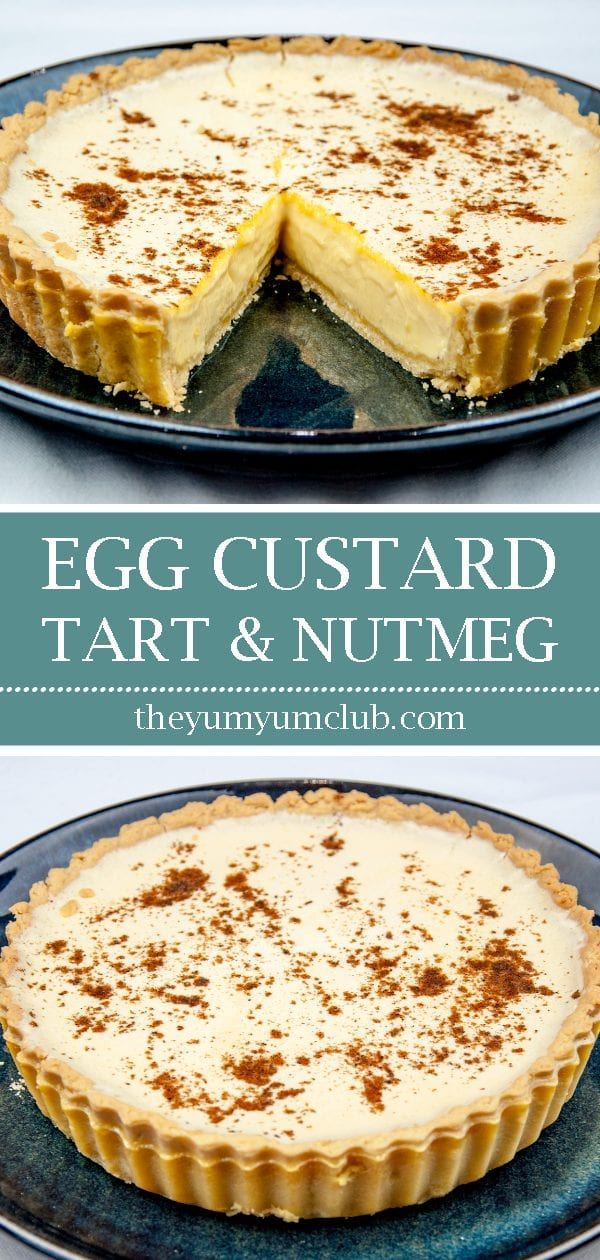 Traditional Egg Custard Tart