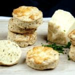 Cheese and chive scones. I love these savoury beauties. Serve with just a good helping of butter, or use as croutons with some wonderful warming soup. Yum! | theyumyumclub.com