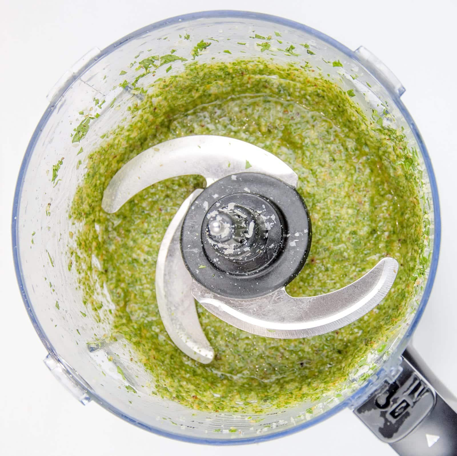 How to make pesto at home. The fresh taste of Italy. Just 5 ingredients in this wonderful vegetarian recipe. Basil, garlic, pine nuts, olive oil and parmesan cheese. Fantastic for pasta. Yum!   theyumyumclub.com