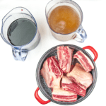Look at this wonderful and tender slow-cooked braised short rib. Mouthwatering right? It takes some time to cook but hardly any time to prepare. Make it in the morning and go enjoy the rest of your day. It will be ready waiting for you as dinner time rolls along! Yum!   theyumyumclub.com