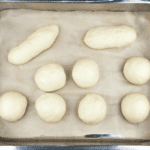 Ever wondered how to make brioche buns? Well, it's far easier than you think. Come on, I'll help. You'll have bun in the oven in no time! Yum!! | theyumyumclub.com