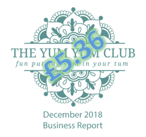 December 2018 Audience Overview | theyumyumclub.com