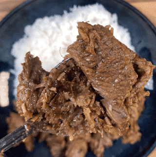 Malaysian beef rendang is a classic tasty South East Asian recipe. The sweet taste of coconut combined with chilli, ginger and eastern spices. Yum! | theyumyumclub.com