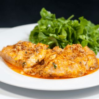 Parmesan & Paprika Haddock Baked in Garlic Butter. Gather the ingredients together | https://theyumyumclub.com/2019/04/29/parmesan-paprika-haddock-garlic-butter/