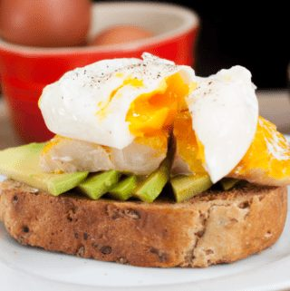 Avocado haddock and poached eggs | theyumyumclub.com