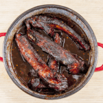 Slow-cook the ribs for 5-6 hours. Chinese sticky hoisin chilli ribs. Perfect pork spare rib. Yum! Yum! | theyumyumclub.com