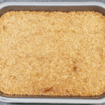 Bake for 20 minutes | https://theyumyumclub.com/2019/06/01/extra-soft-and-chewy-flapjacks/