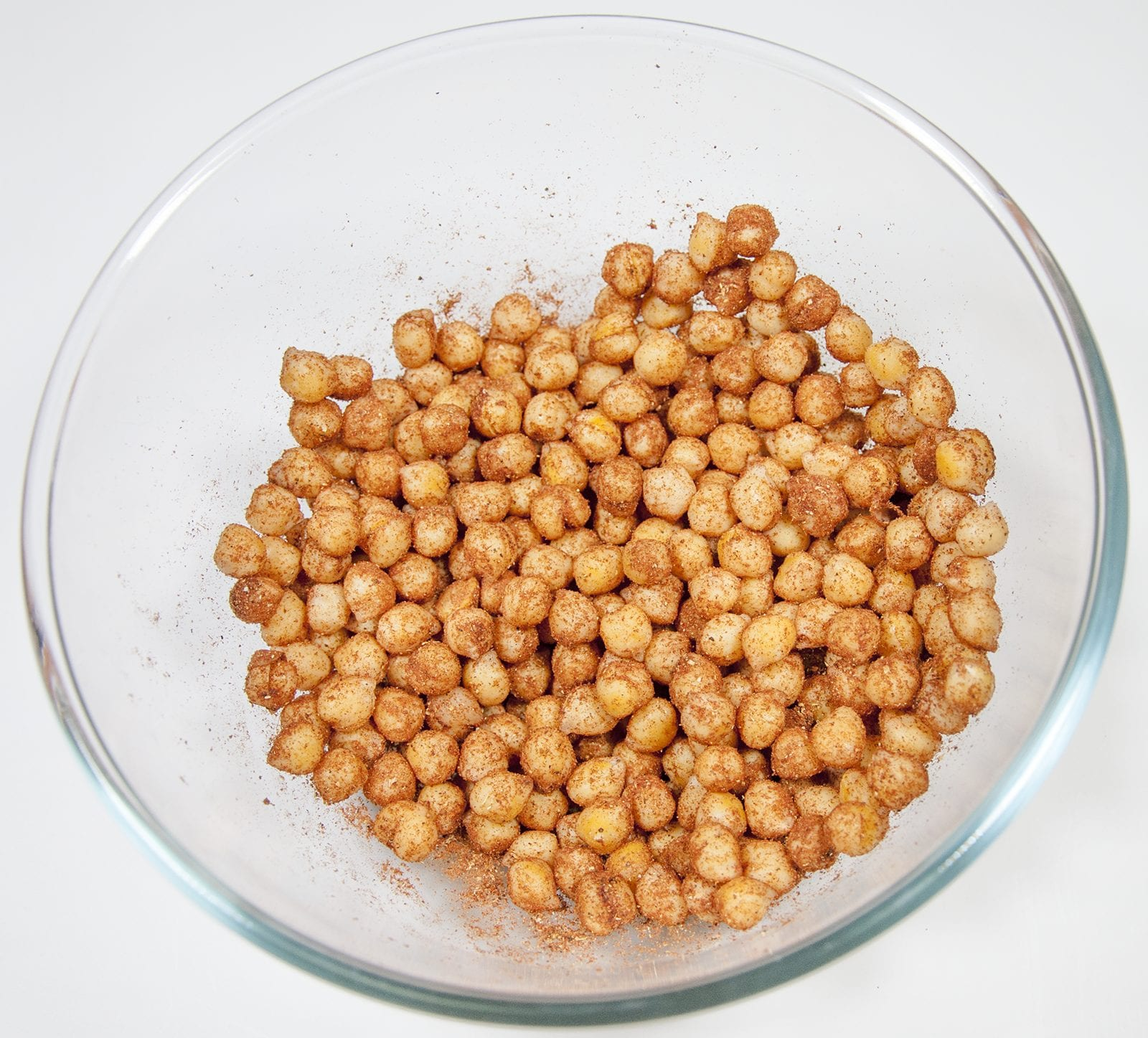 Mix in the spices | https://theyumyumclub.com/2019/06/18/moroccan-chickpea-salad/