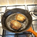 Pan-fry for 3 mins each side   https://theyumyumclub.com/2019/07/05/falafels-fit-for-the-pharaohs/