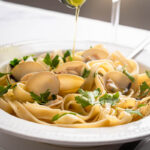 Serve with olive oil and fresh parsley.